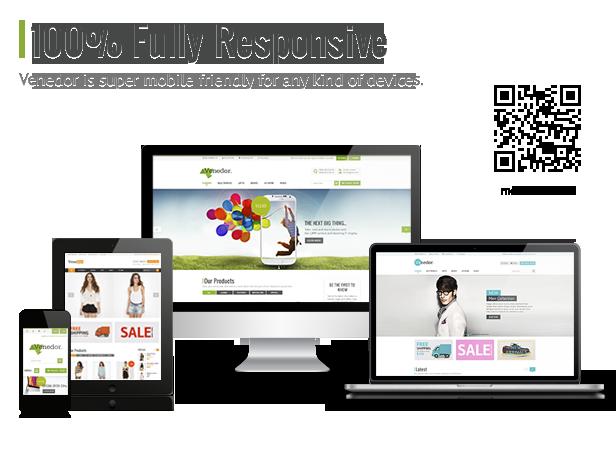 Venedor - Premium Bootstrap Ecommerce HTML5 Template - 4