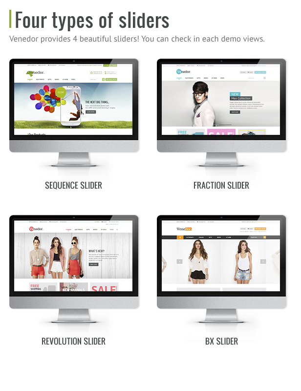 Venedor - Premium Bootstrap Ecommerce HTML5 Template - 5